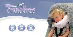 PR13776 Therapeutic Pillow International Baby Traveller Pillow