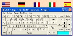 Lake Software Click-N-Type Virtual Keyboard
