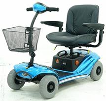 PR07217 Shoprider GK-9 Little Ripper Four Wheeled Scooter