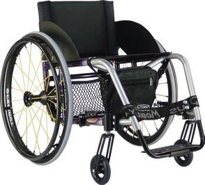 PR06566 Mobility Plus Wedge Manual Wheelchair