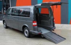 Volkswagen T5 Transporter - lowered floor conversion