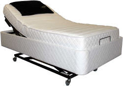 Hi-Lo Flex Bed - with pearl skirt
