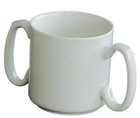 Two Handled China Mug