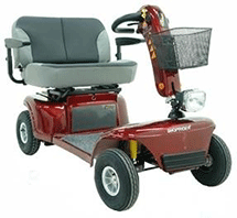 PR17558 Shoprider 889D Large Four Wheeled Scooter