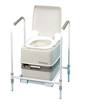 PR04832 Homecraft Portable Toilet Frame for Porta-Potty