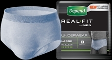 Depend Underwear Real Fit for Men