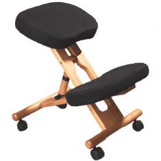 Jobri Wood Accent Kneeling Chair