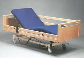 Electrically operated bed