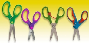 Left handed scissors for children