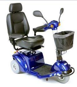 PR17970 ActiveCare Pilot Three Wheeled Scooter