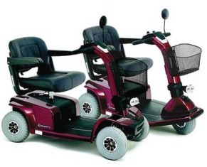 3 & 4 Wheel Scooters - Pride Celebrity