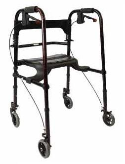 Redgum Ultra Lite Folding Walking Frame with Seat
