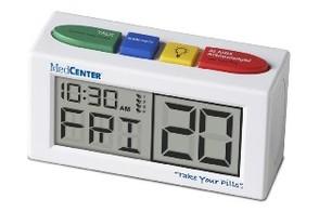 MedCentre Talking Alarm Clock and Medication Reminder