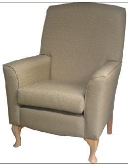 PR03184 Atama Furniture Cornwall Lounge Chair - high back