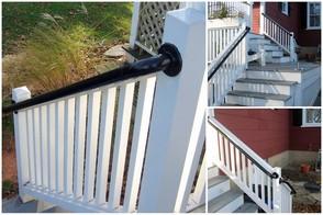 Outdoor grab rail