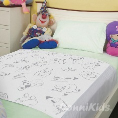 Kids Bedpad - Max with wings