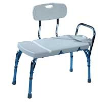 Transfer Bench with Backrest