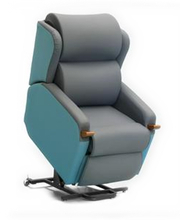 Effortless chair in raised position