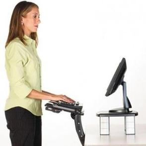 3M Sit/ Stand Adjustable Keyboard Tray