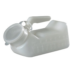 Urinal Bottle Male with Lid