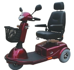 Merits Aurora S836 Three Wheeled Scooter