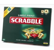 Large Print Scrabble game