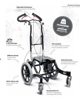 Anatomic Sitt Seabass Pro Mobility Base
