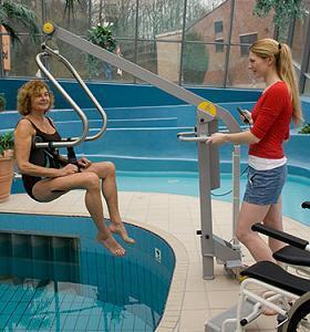 Handi-Move Pool Hoist