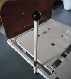 Clamp-on Bed Stick with Ball Top
