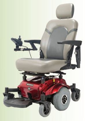 GP650 Midwheel Drive Powered Wheelchair