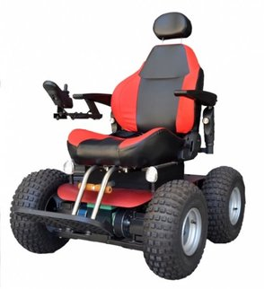 Observer 4x4 beach powered wheelchair
