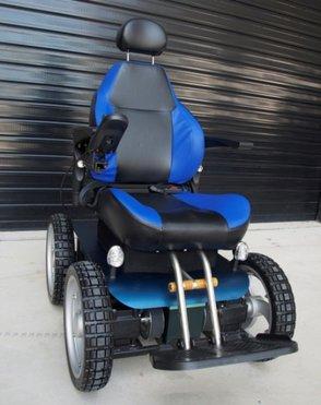 Observer 4x4 bush powered wheelchair