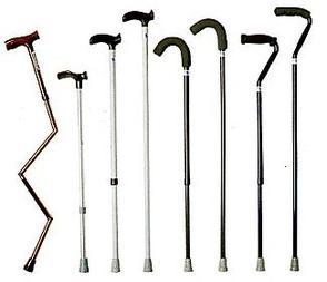 PR09668 K-Care Adjustable Walking Sticks