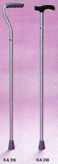 PR00792 Fixed Height Aluminium Walking Stick