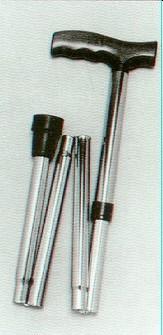 K-Care T-Handle Adjustable Folding Walking Stick