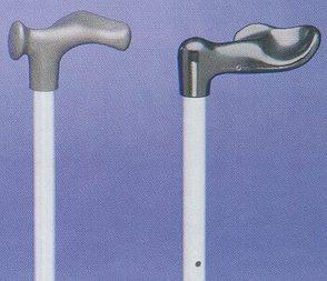 PR00793 Moulded Handle Adjustable Walking Stick