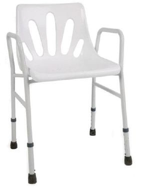 Goldfern Mobility L-Shaped Shower Chair with Arms