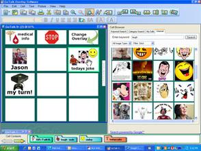 GoTalk overlay software screenshot