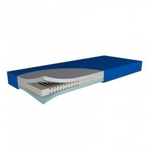 Funke Hyper Foam 2 mattress showing three foam layers