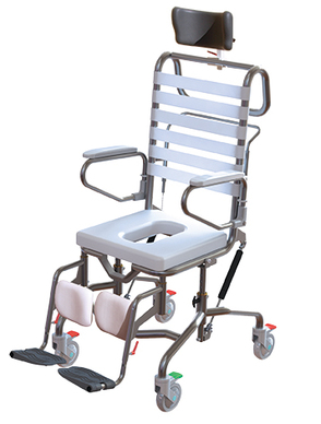 K Care Adjustable Height Shower Commode