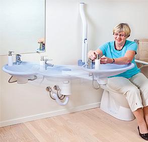 Ropox Mississippi Swingable Washbasin