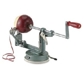 Apple Master Peeler With Vacuum Base