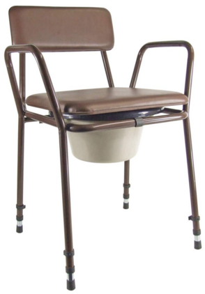 Essex Commode Chair - Assembled Model
