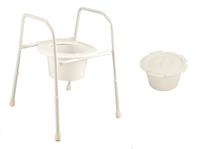ActiveCare Aquacare Folding 3 in 1 Over Toilet Frame