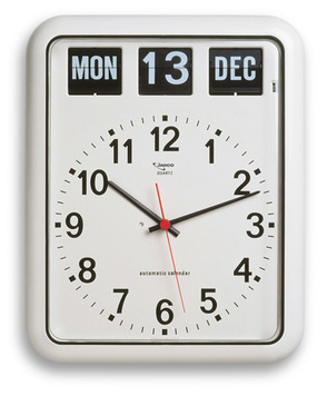 Jadco BQ12 Analogue Calendar Clock with Automatic Calendar