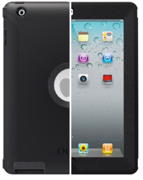 OtterBox Defender Case - iPad (front and back view)