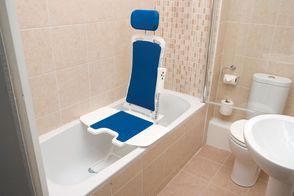Bellvita bath lift with optional headrest