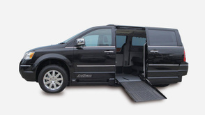 Chrysler Voyager wheelchair accessible vehicle - side view