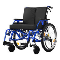 Fondlight Brendale Bariatric Wheelchair - front view