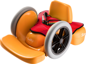 Scooot set up as mobility rider